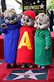 alvin and the chipmunks receive star on walk of fame 15