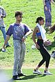 jaden and willow smith check out kanye wests sunday service coachella set 05