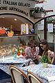 natalia dyer charlie heaton keep close during lunch in italy 06