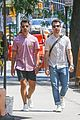 joe jonas kevin jonas hang out in nyc 03