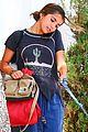 isabela moner walks dog weho 02