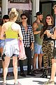 hayley erbert derek hough dwts lunch reunion pics 01