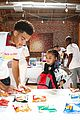 marcus scribner helps hand out food to families in need 04