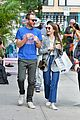 lily collins charlie mcdowell nyc day date 02