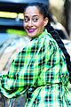 tracee ellis ross wears glam outfit on bike ride 10