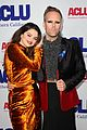 selena gomez looks so pretty in a velvet dress at bill of rights dinner 01