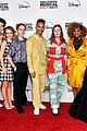 high school musical musical series cast gets silly at premiere 18