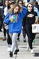 bffs joey king sabrina carpenter have fun after sunday brunch 06