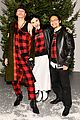 kendall jenner buffalo check pjs ck party 34