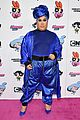 meghan trainor nikita dragun turn into powerpuff girls for christian cowan fashion show 18