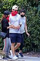 pregnant lea michele goes for hike with zandy reich mom 22
