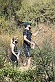 ashley benson g eazy hold hands hiking in the hills 02
