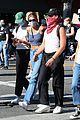 cole sprouse kaia gerber black lives matter protest 10