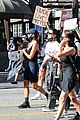 cole sprouse kaia gerber black lives matter protest 46