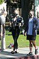 pregnant sophie turner at park with joe jonas family 10