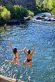joey king taylor zakhar perez waterfall getaway 14