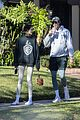 kaia gerber jacob elordi take her dog for a walk 05