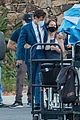 harry styles looks dapper in two suits on dont worry darling set in palm springs 25
