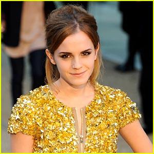 Emma Watson: Stalked By Harvard Students