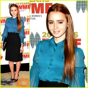Lily Collins Has Courage in Journalism