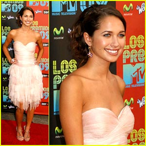 Maiara Walsh is Los Premios Pretty