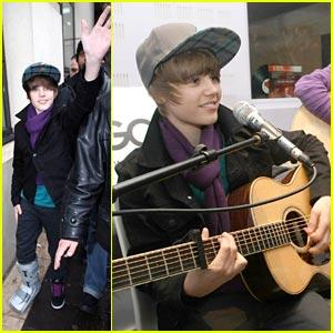Justin Bieber Goes Goom