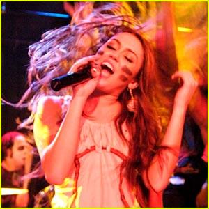 Miley Cyrus Loves Rock N' Roll