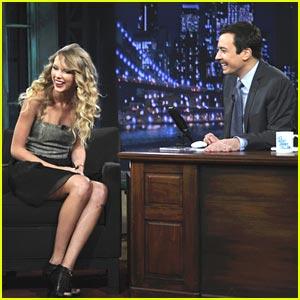 Taylor Swift Guests On Jimmy Fallon Tonight!