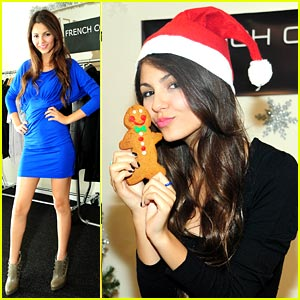 Victoria Justice: Gingerbread Joy!