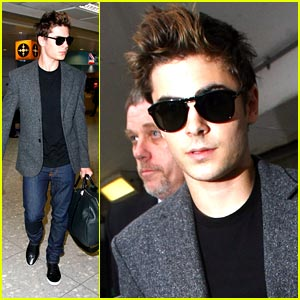 Zac Efron is Heathrow Hot