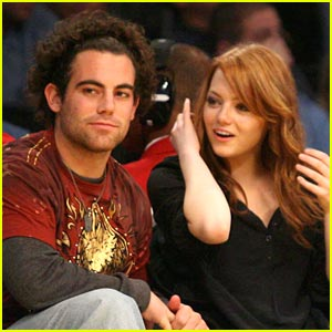 Emma Stone is a Lakers Lady