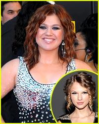 Kelly Clarkson Borrow Taylor Swift's White Horse