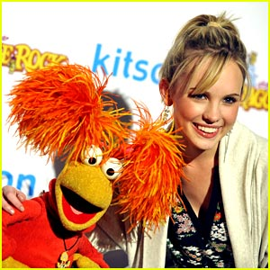 Meaghan Martin & Red Fraggle are Kitson Cool