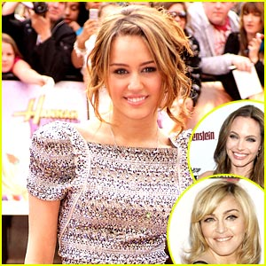 Miley Cyrus Clears Up Quotes about Angelina Jolie