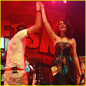 Selena Gomez Jams with FTSK