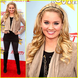 Tiffany Thornton: Knee-High Boot Hot