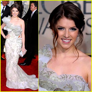 Anna Kendrick is Golden Globe Gorgeous