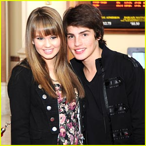 Debby Ryan & Gregg Sulkin are Super Spies