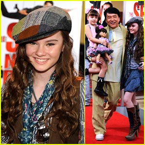 Madeline Carroll is Newsboy Cap Cute