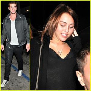 Miley Cyrus & Liam Hemsworth: Katsuya Couple