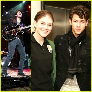 Nick Jonas Feeds America