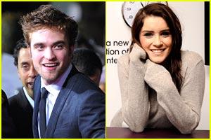 Lucie Jones Passed on Dinner with Robert Pattinson