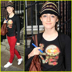 Saoirse Ronan is Red Pants Pretty