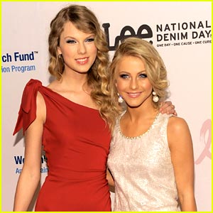 Taylor Swift & Julianne Hough Care about Cancer
