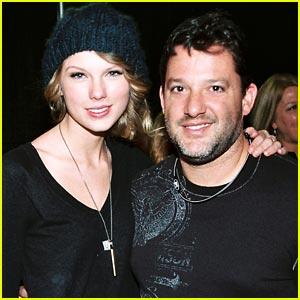 Taylor Swift & Tony Stewart Support Speed & Sound