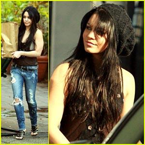 Vanessa Hudgens Hair 2010