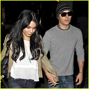 Zac Efron & Vanessa Hudgens: Movie Mates