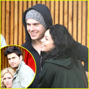 Zac &#038; Vanessa Double Date with Brittany &#038; Ryan!