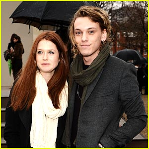 Bonnie Wright & Jamie Campbell Bower: It Just Sort of Happened