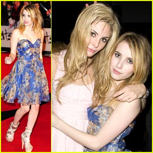 Emma Roberts: BRIT Award Beauty